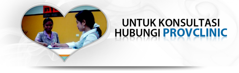 untuk konsultasi hubungi provclinic