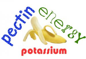 pectin banana